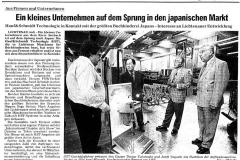 1997, FLZ-Sprung nach Japan